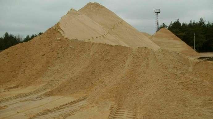 Купить песок карьерный с доставкой